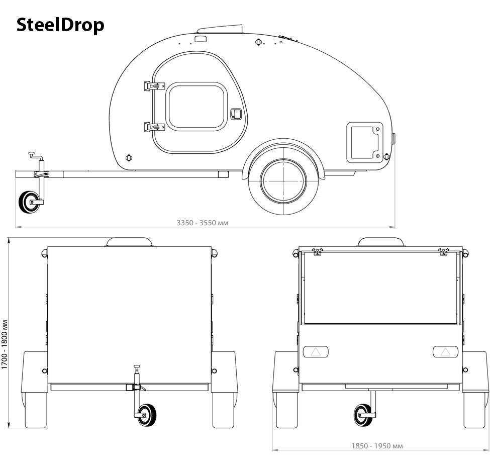 Steeldrop Mål