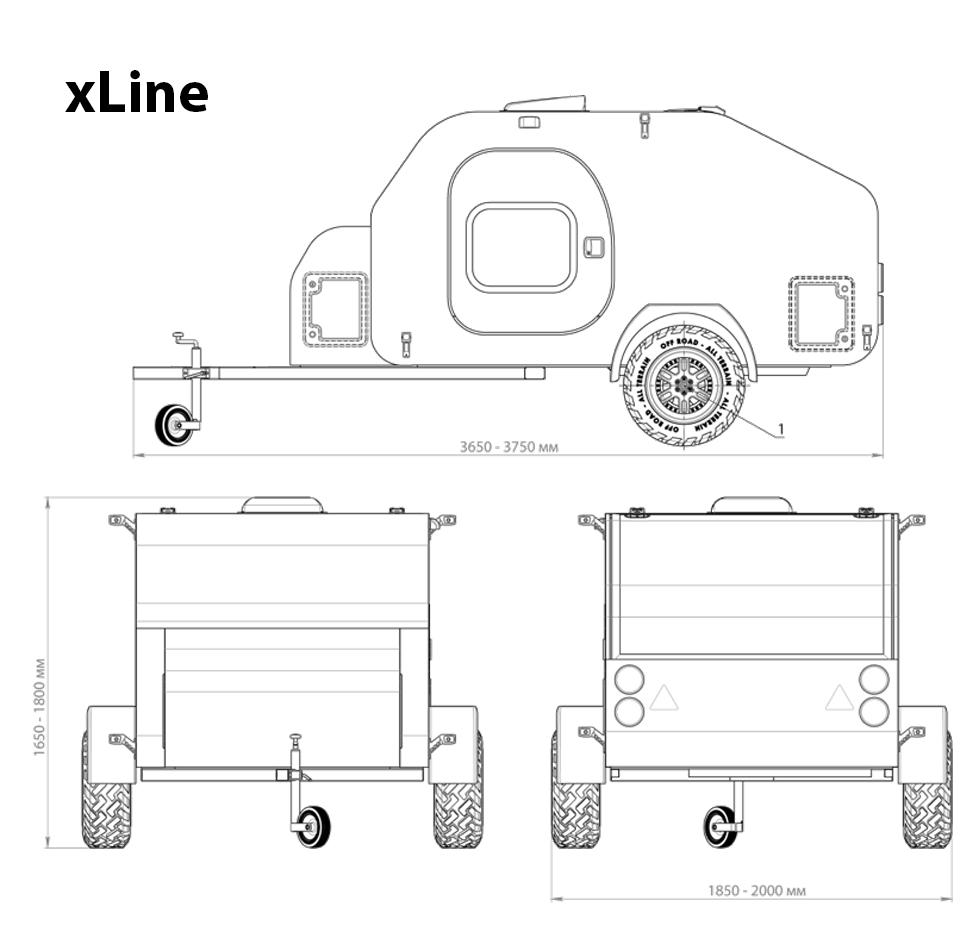 X-Line Mål
