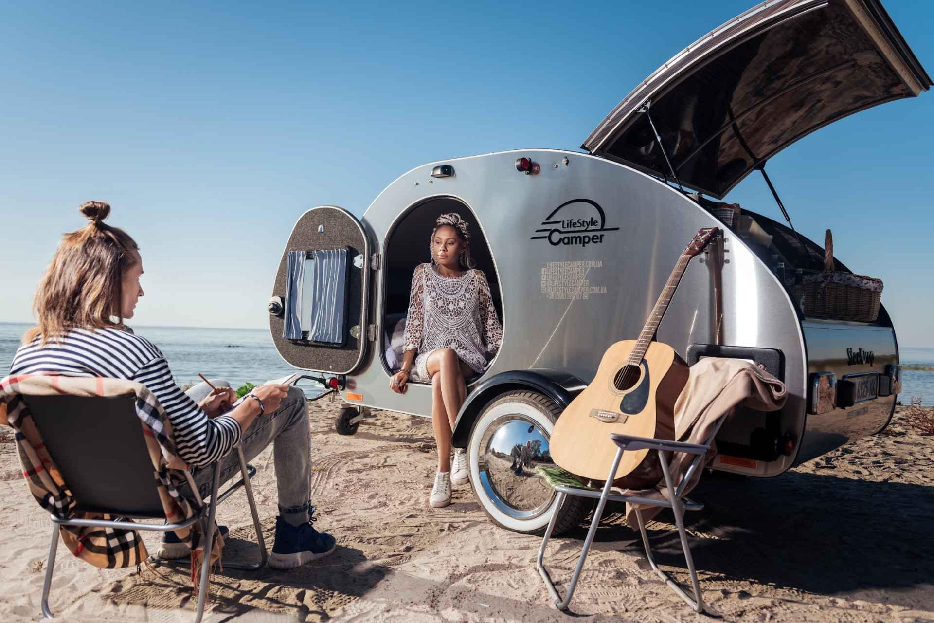 lifestyle camper norge steeldrop teardrop campingvogn produktfoto 9