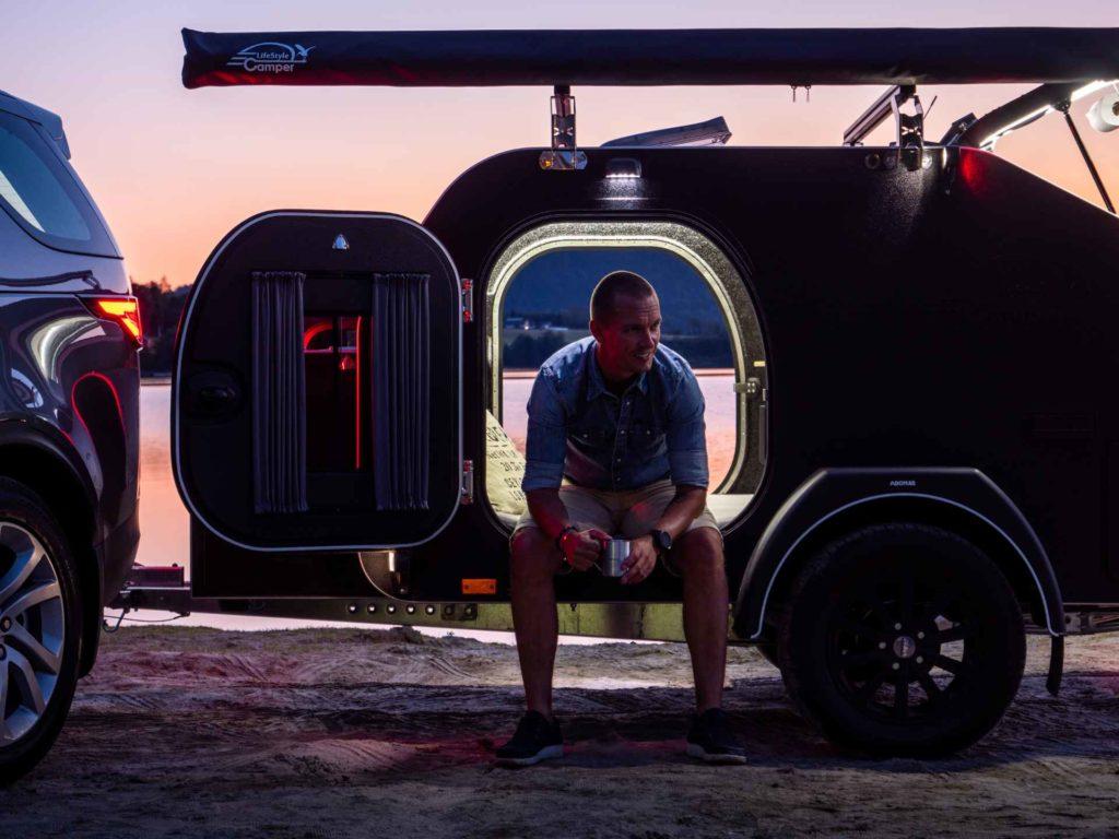 Lifestyle camper Norge offroad campingvogn produktfoto 3