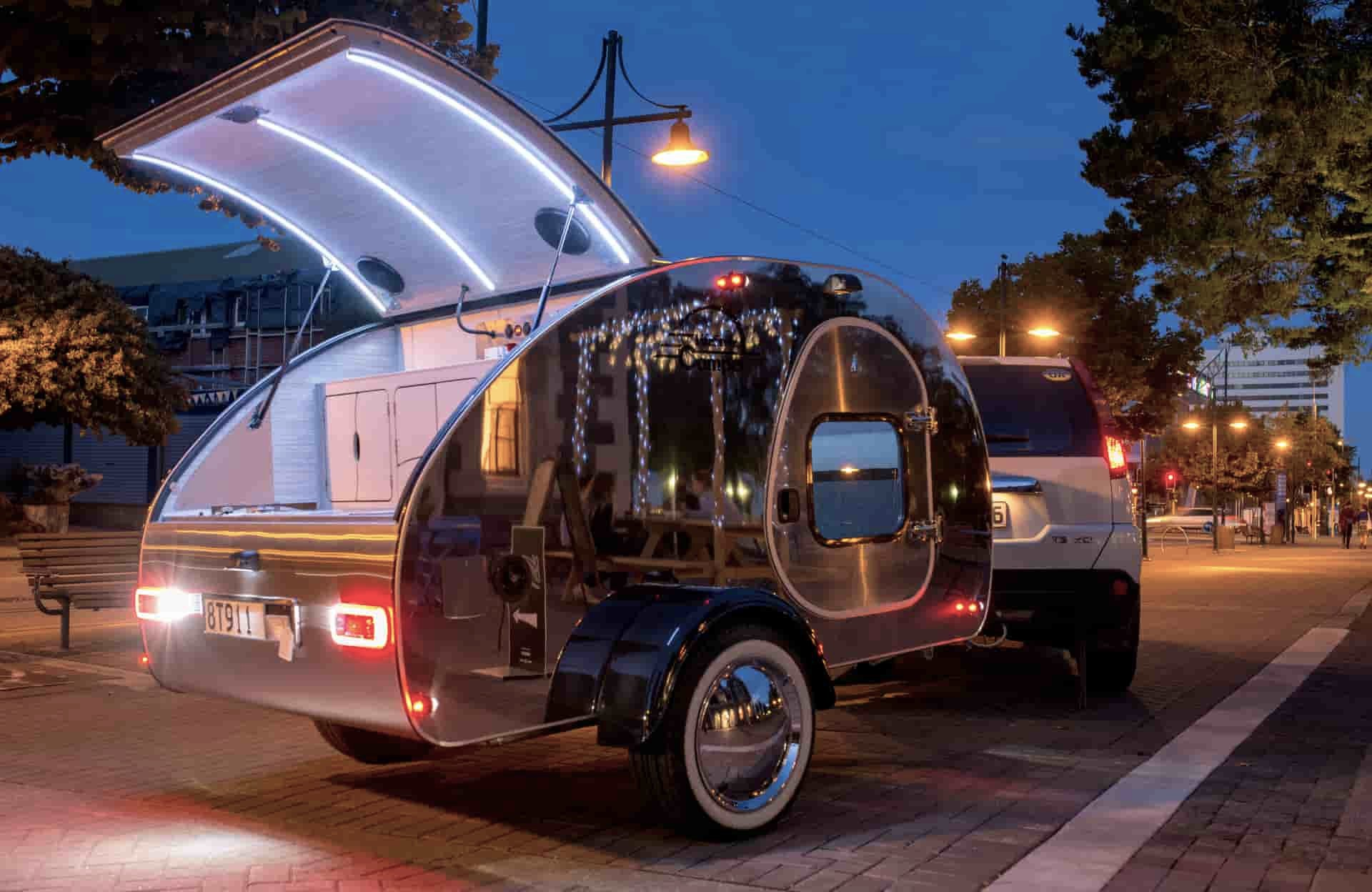 Lifestyle Camper Norge Mini campingvogn modell steeldrop