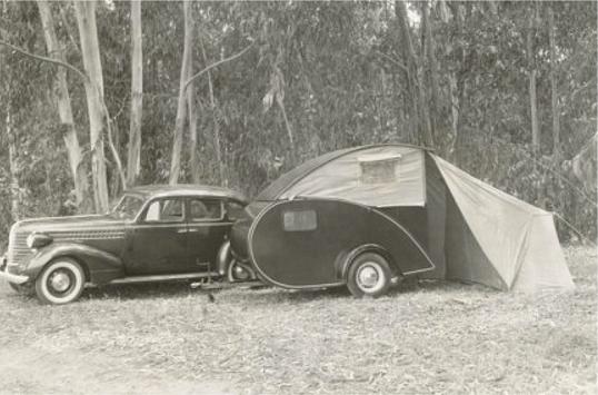 lifestyle camper norge steeldrop teardrop campingvogn historisk