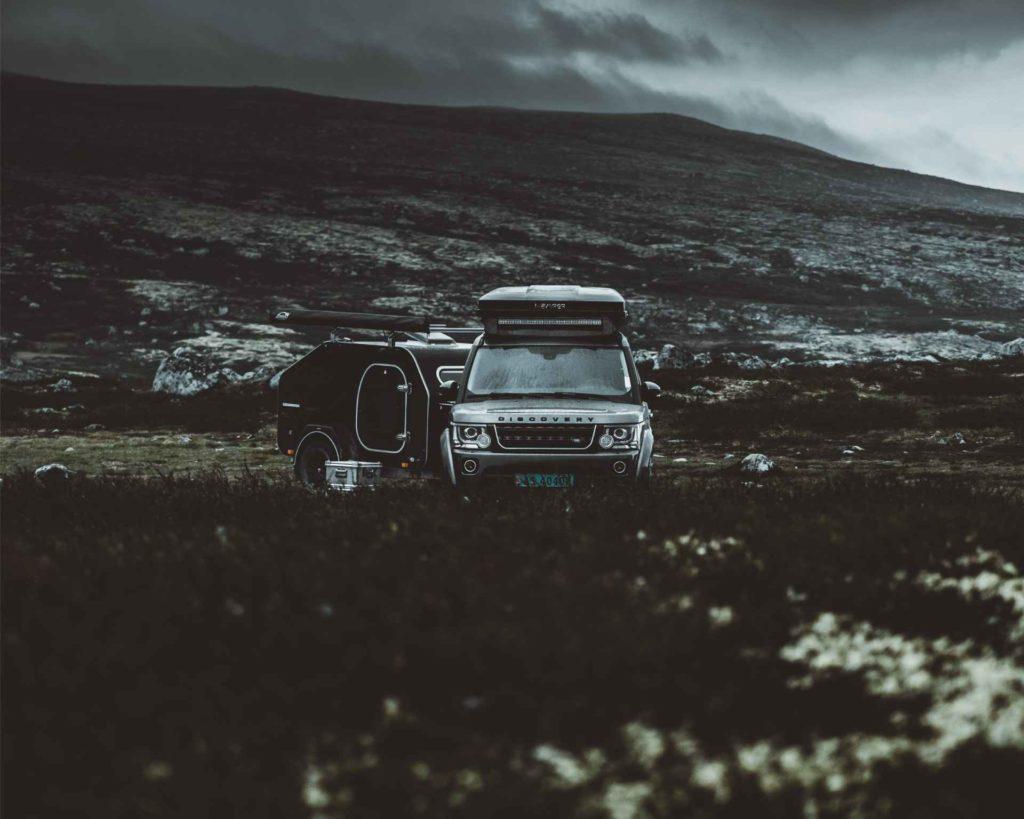 Kasper høglund sitt bilde av bilen sin med lifestyle Camper Norge sin X-Line