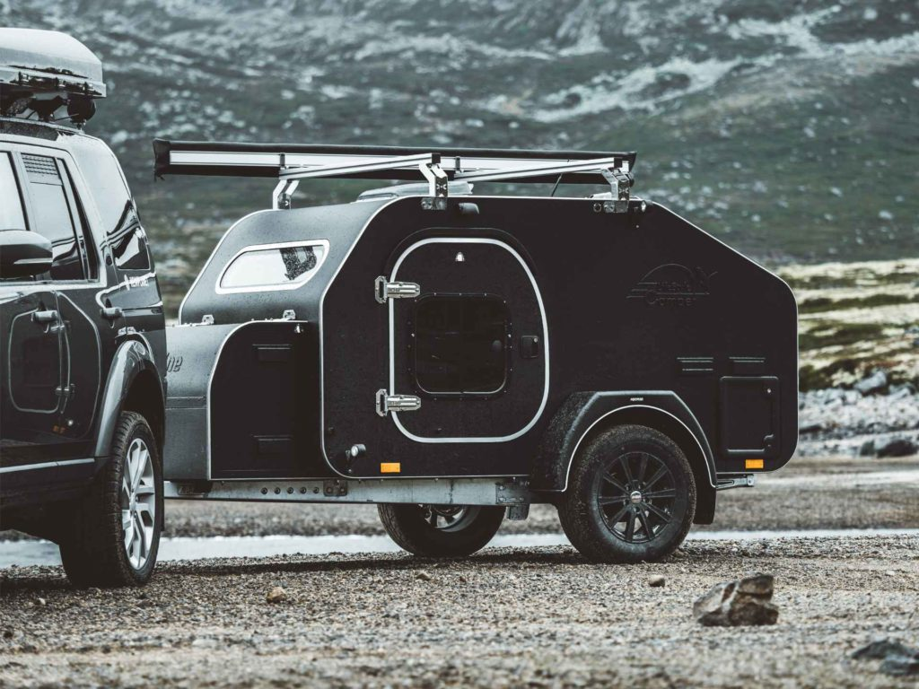 Kasper høglund sitt bilde av bilen sin med lifestyle Camper Norge sin X-Line 2